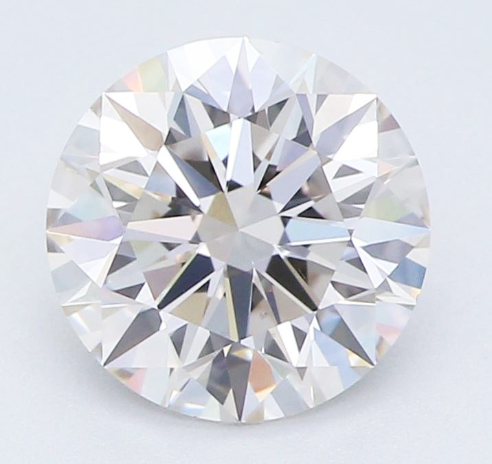 Certified 1 Carat Earth-Grown and Lab-Created Diamond