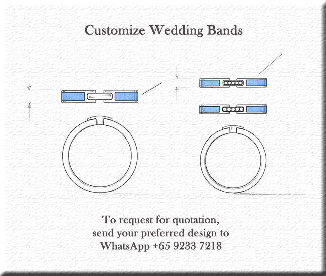 Customize Wedding Bands