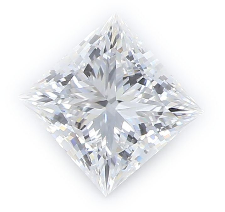 Princess Cut Diamond, certified by GIA/IGI
