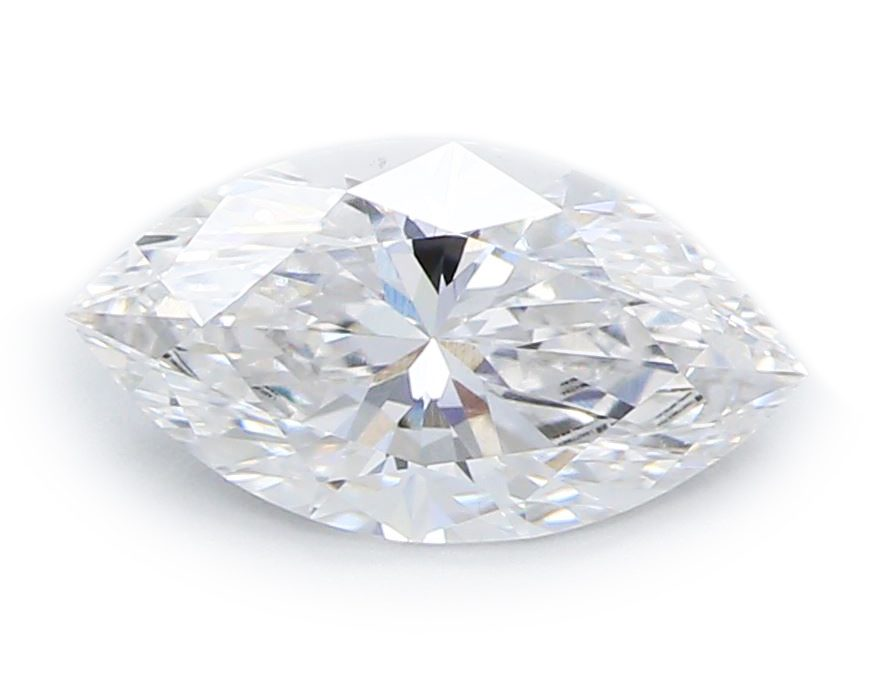 Marquise Brilliant Diamond, certified by GIA/IGI
