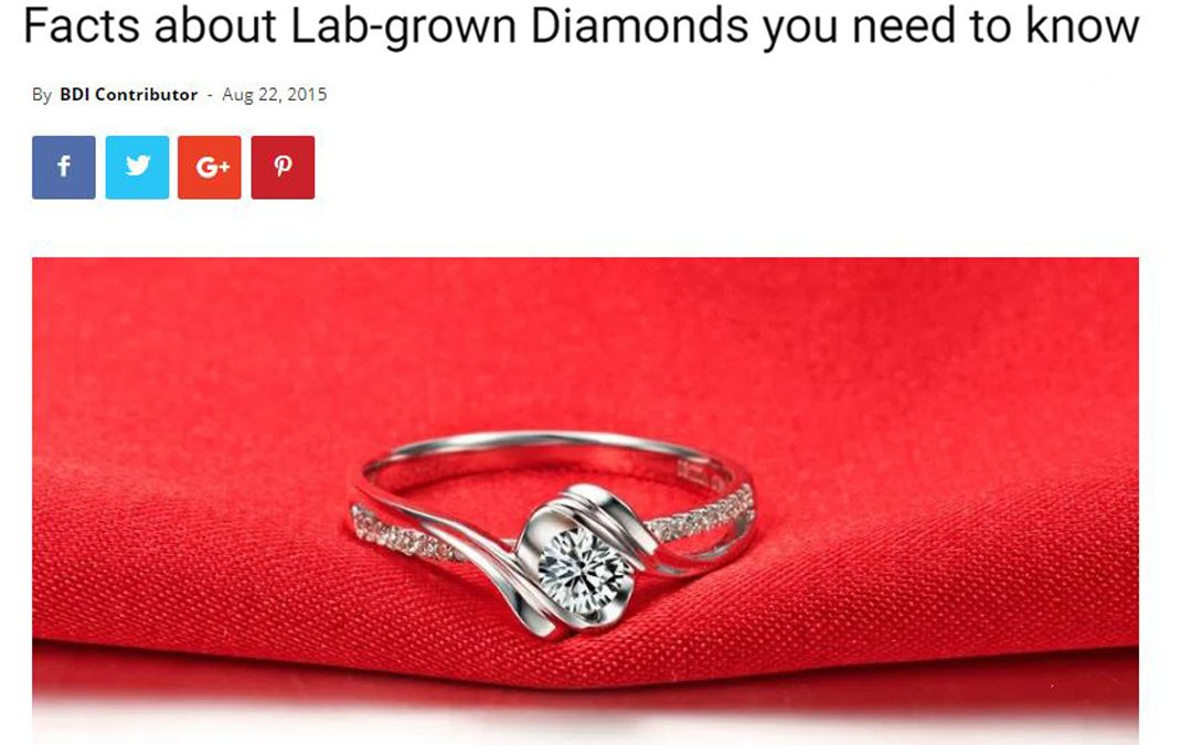 Facts about Lab-grown Diamonds you need to know
