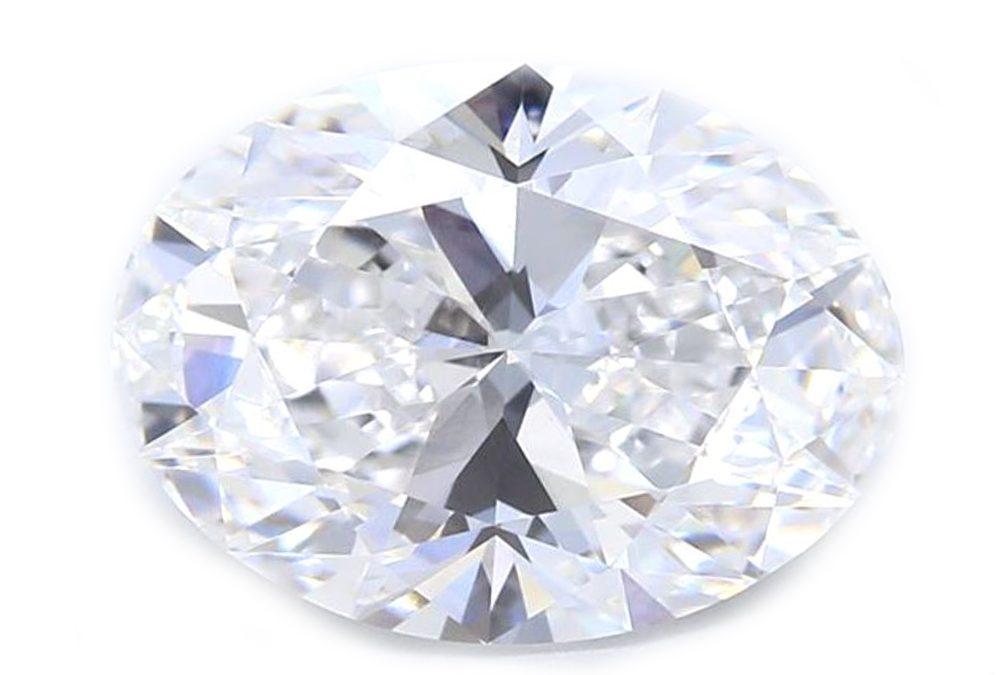 Oval Brilliant Diamond, certified by GIA/IGI